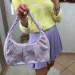 Borsa lilac